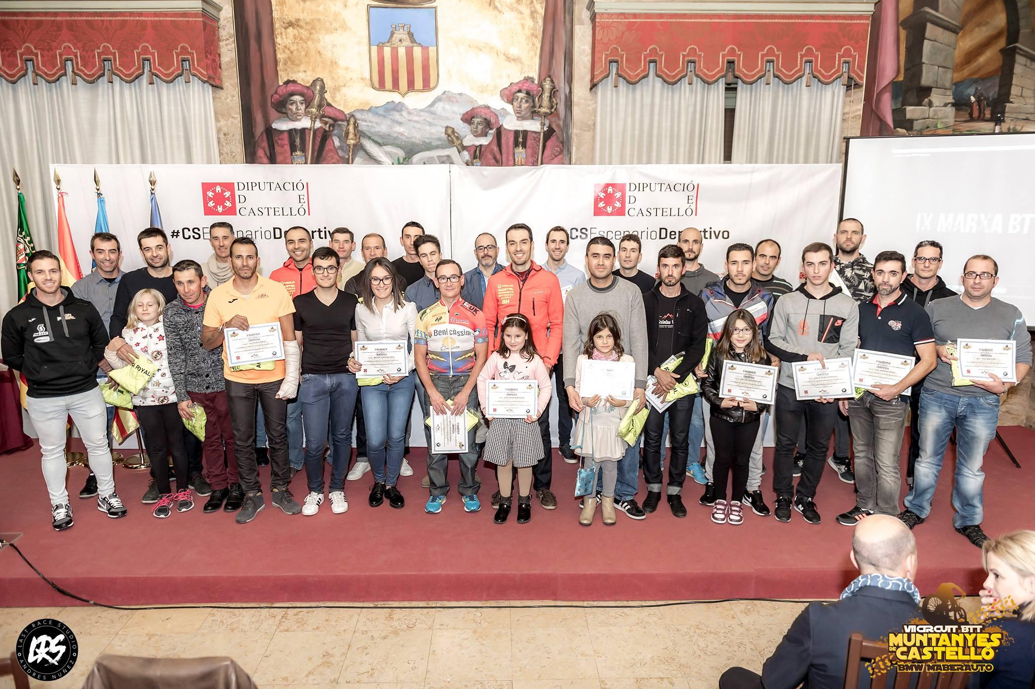Clausura del VIII Circuit Btt Muntanyes de Castelló